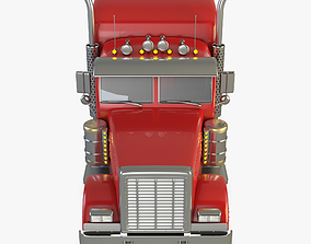 3D model Peterbilt Truck