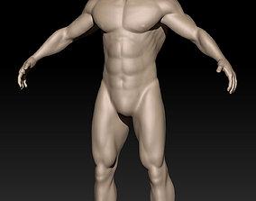 3D print model Anatomy Man-2