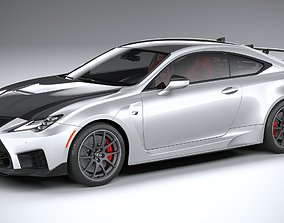Lexus RC-F Track Edition 2020 3D