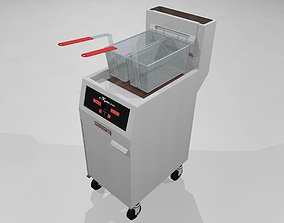 3D Deep Fryer - Restaurant Style