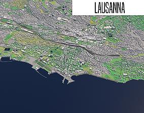 Lausanne 3D model