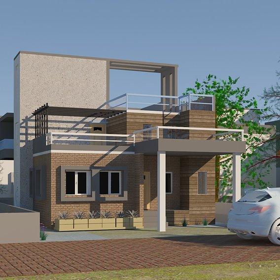 3D rendering ,Exterior