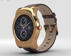 3D model LG Watch Urbane Gold