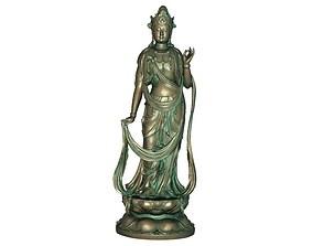 Goddess of 3D printable model 3D asset realtime