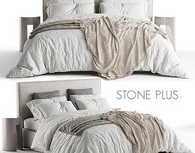 Bed Meridiani Stone Plus 3D