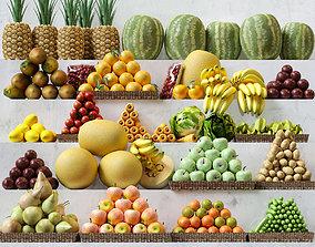 3D Fruit Set