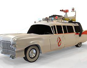 3D model Ghostbustrers ecto 1