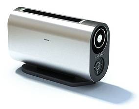 3D model Siemens Portable Radio System