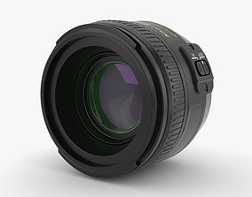 Nikon Camera Lens lens 3D model