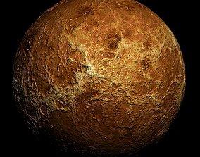 3D Sun Planet