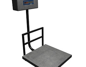 3D model Electronic Weight Machine
