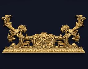 Classic decor ornament v-3D model 36