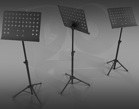 Music stand 3D