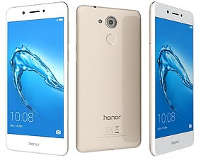 Huawei Honor 6C Gold 3D model