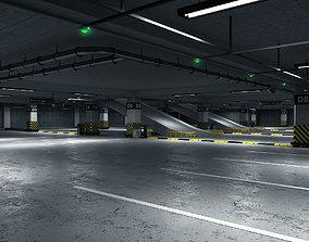 3D render Parking