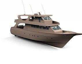 Day Boat 3D model
