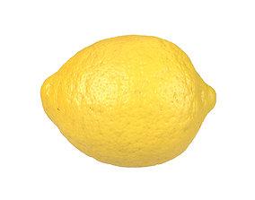 Photorealistic Lemon 3D Scan