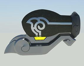Overwatch Lena Oxton Tracer Bracers 3D printable model 2
