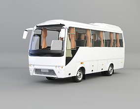 3D model prestij supperdelux bus