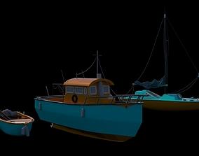 Motor Boats 3D