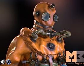3D asset Diver 2