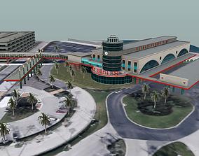Disney Cruise Terminal 3D model VR / AR ready