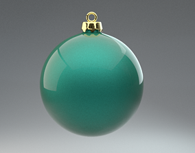 Christmas ball sphere 3D