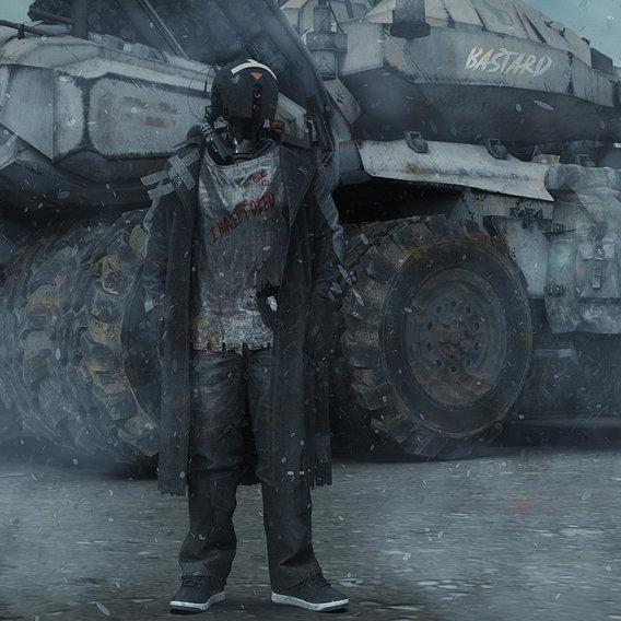 Survivor Cyborg