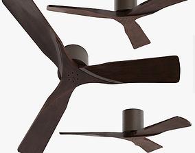 Matthews Irene 3-Blade Walnut-Bronze Hugger 3D model 1