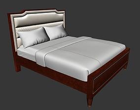 3D model soft bed furniture