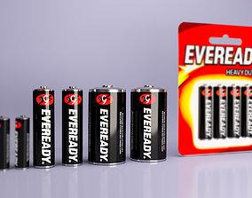 batteries Eveready AA - AAA - C 3D