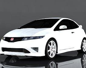 Honda Civic Type-R 3D asset low-poly