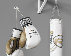 3D Sports boxing set