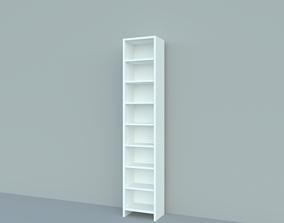 3D Bookcase cabinet