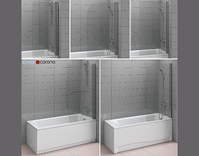 3D Shutters for baths and baths Ideal and Gustavsberg set
