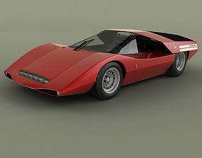 3D Fiat Abarth 2000 Scorpione