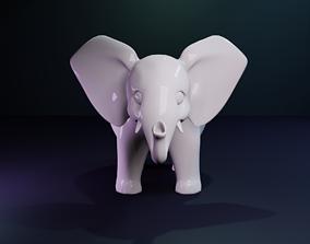 3D print model Elephant Figurine