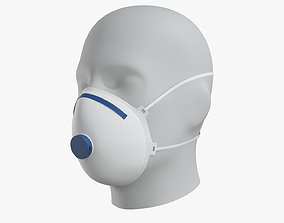3D asset Protective Mask