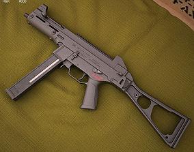 Heckler and Koch UMP 3D model