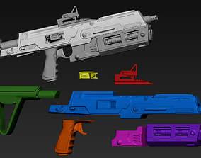 Sith Trooper Blaster 3D Printable Files