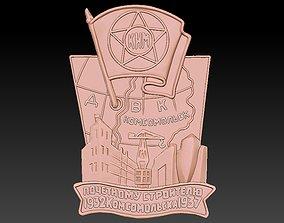 Badge Factory 3D print model