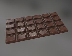 3D asset Chocolate
