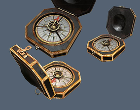 Jack Sparrows Compass 3D asset