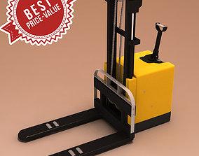 3D model Hand pallet truck 02