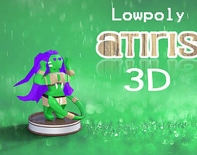 3D model Paper Little atiris stl