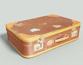 Vintage Suitcase Retro 3D asset VR / AR ready 1