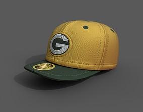 Human cap hat 3d model ver2 game-ready