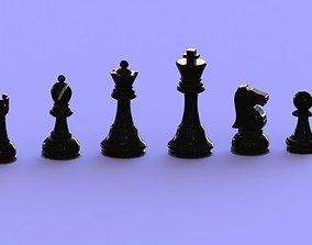 chess board 3D print model