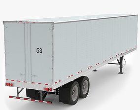 3D model Refrigerated Semitrailer