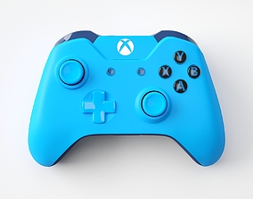 3D Xbox One Blue Edition Controller
